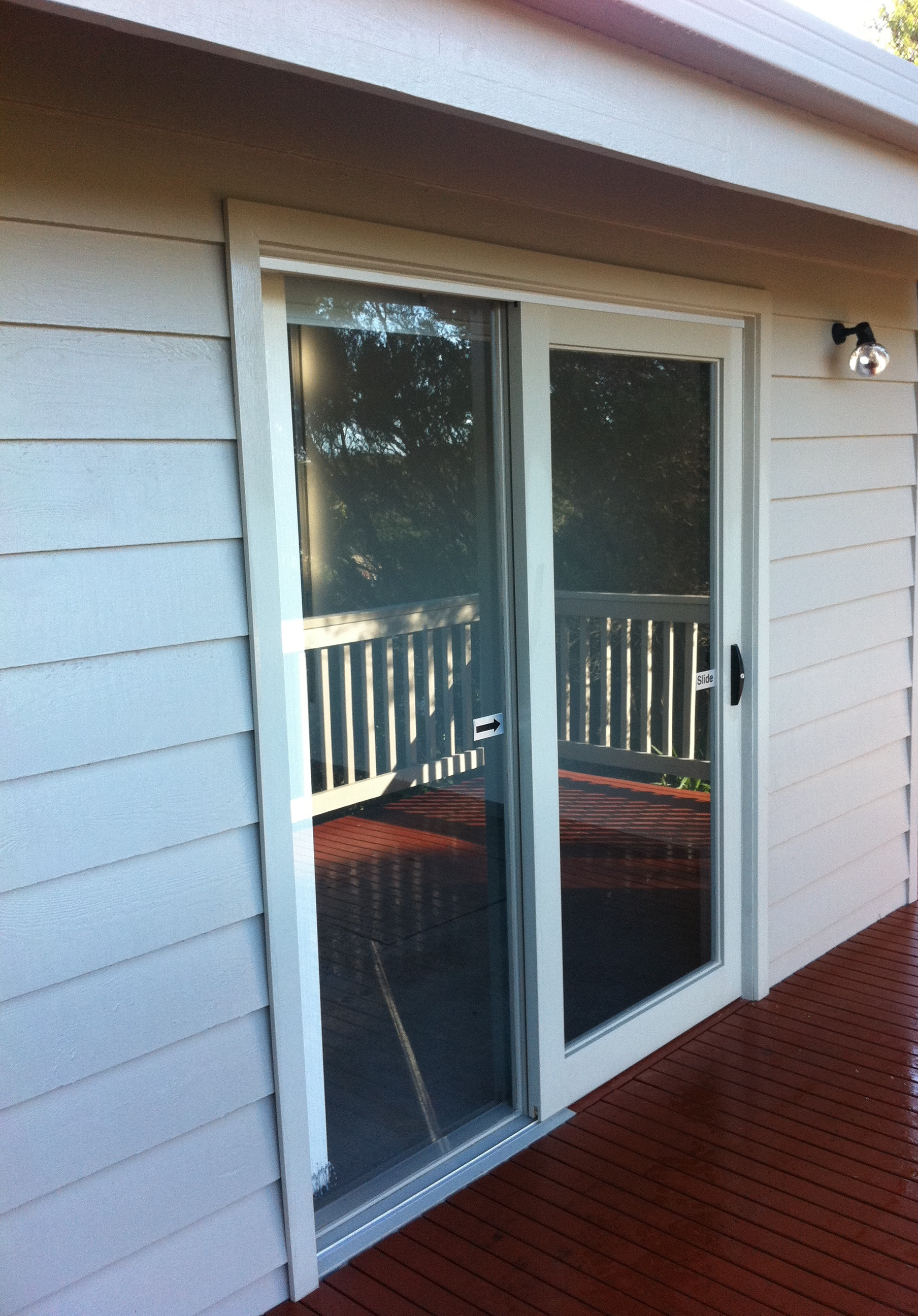 Timber sliding door replacement Mornington Peninsula