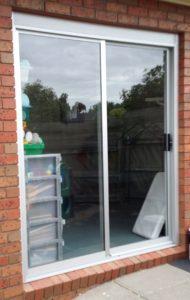 Aluminium sliding door replacement