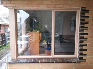 Wooden window replacement