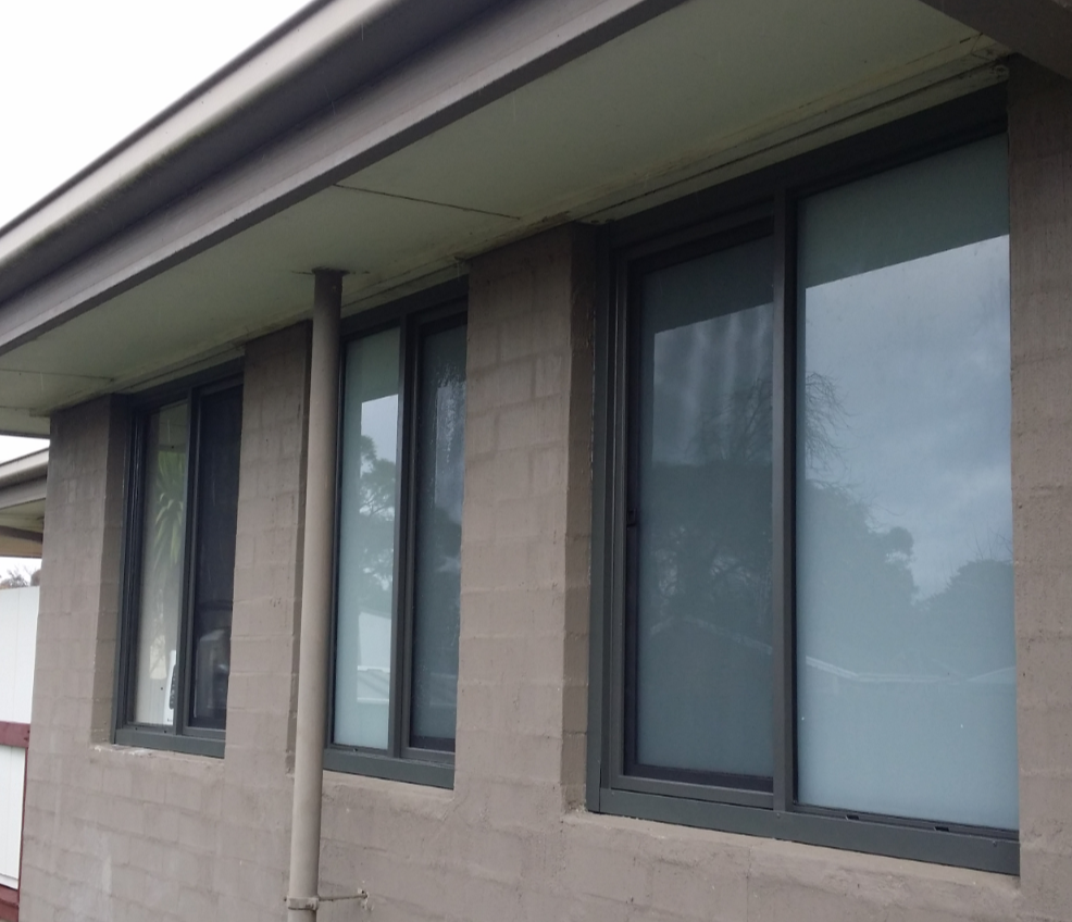 Aluminium windows after Mornington