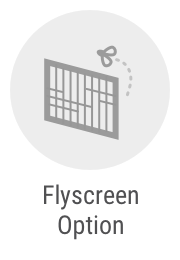 Aluminium flyscreen options