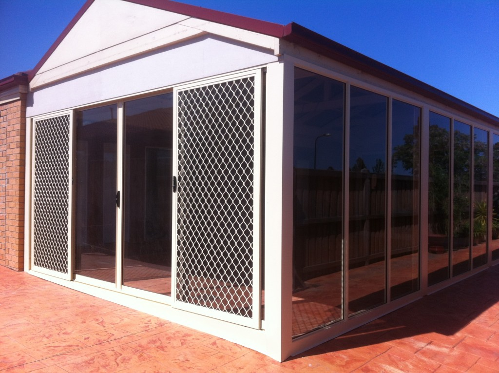 Aluminium Sliding Door and Pergola Infill
