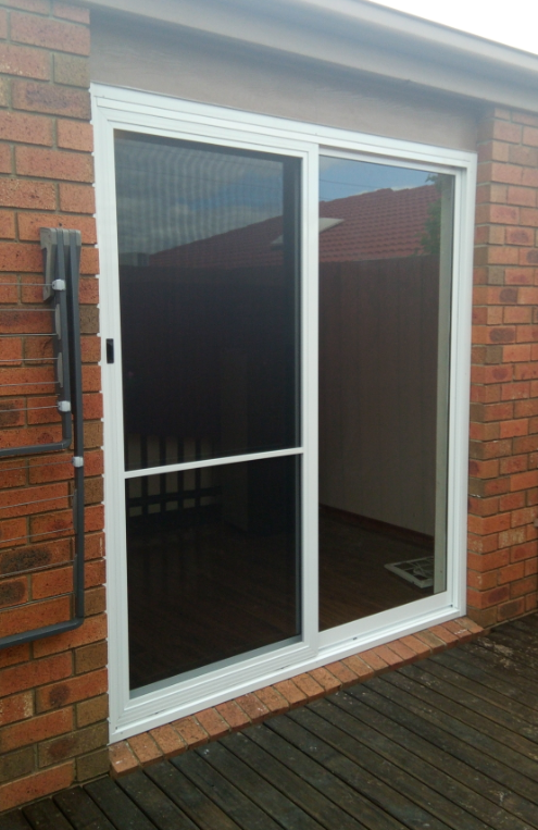 Aluminium sliding door replacement