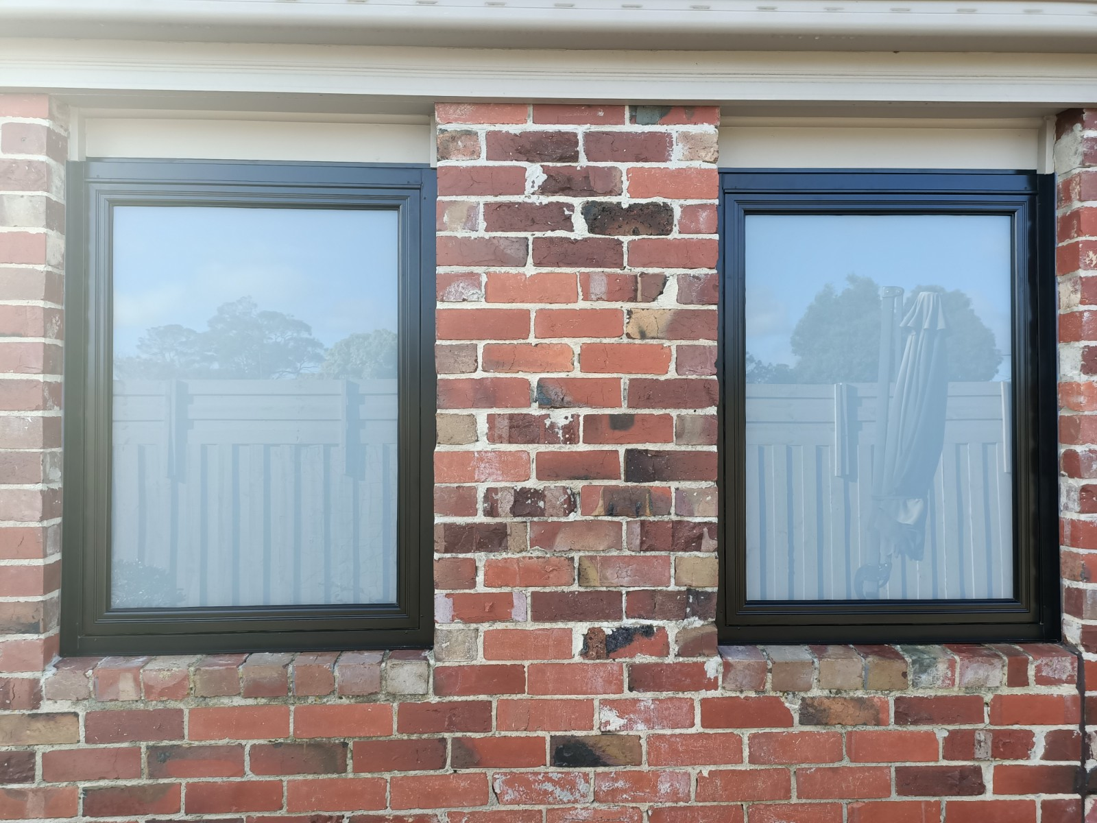 Aluminium frosted window replacement Mornington