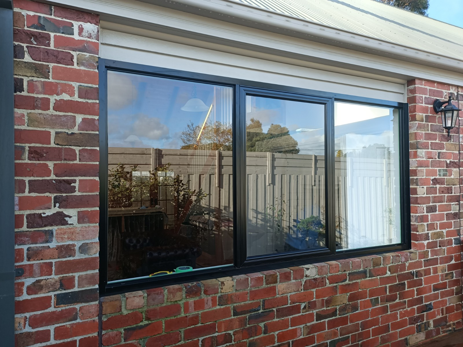 Black aluminium windows Mornington
